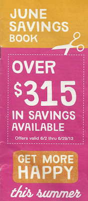 Walgreens June Coupon Booklet