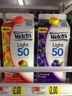 Welchs Light Juice Coupon