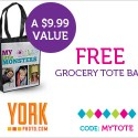 FREE Tote Bag from York Photo