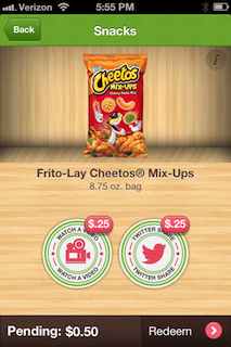 Cheetos Mix Ups Ibotta Offer