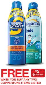 Target Coppertone Deal