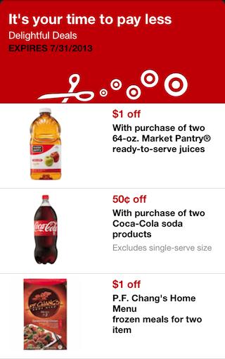 Target Mobile Coupons Savvy