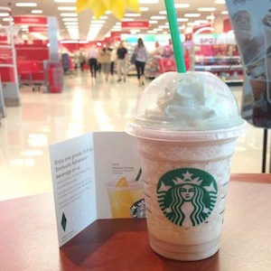 Target Starbucks Frappuccino Promo