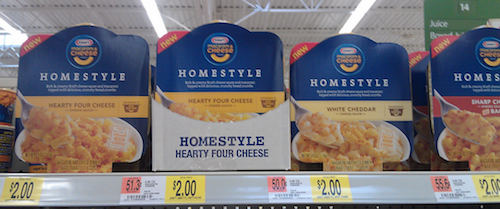 Walmart Homestyle Mac Cheese