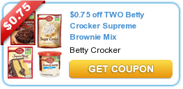 Betty Crocker Brownie Mix Coupon