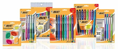 Bic Stationery Product Coupon