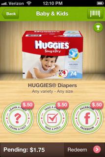 Huggies Diapers Ibotta Offer