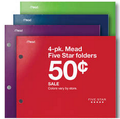 Target Mead Folders