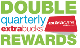 CVS Double Quarterly ExtraBucks