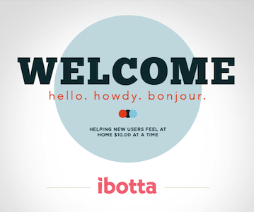 Ibotta Welcome Bonus