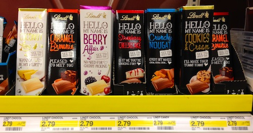 Target Lindt Chocolate Deal