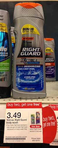 Target Right Guard Body Wash