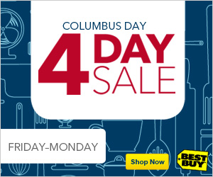 Best Buy Columbus Day Sale
