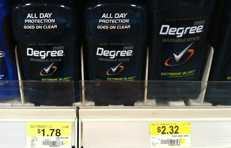 Degree Deodorant Printable Coupons