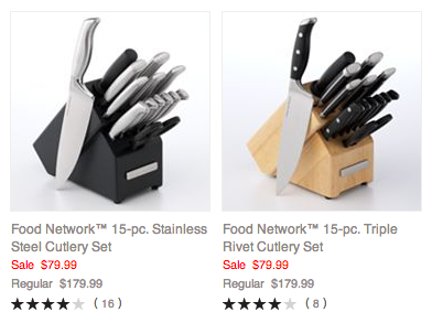 Food Network Cutlery