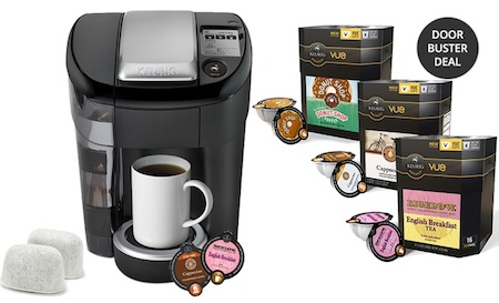 Keurig Vue V500 Brewing System Bundle