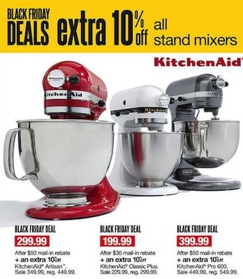 Kohls KitchenAid Mixers