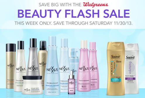 Walgreens Beauty Flash Sale