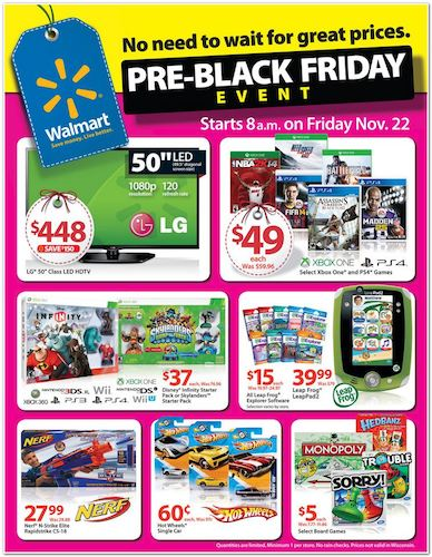 Walmart Pre-Black Friday Event