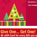 CVS: Buy a $25 Gift Card, Get a FREE $5 Gift Card
