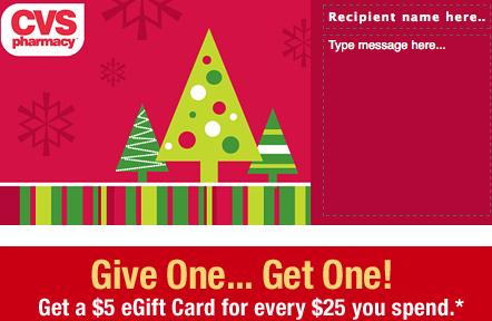 CVS Gift Card Promo