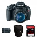 Canon EOS Rebel T3i Digital SLR Camera Bundle $476 Shipped