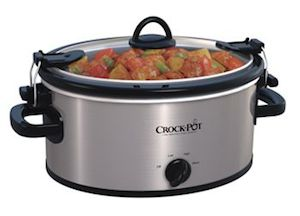 Crock Pot 4 qt Cook Carry Slow Cooker
