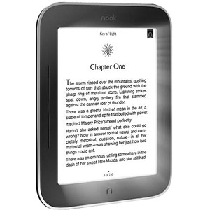 NOOK 6 Simple Touch eReader with GlowLight