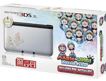 Nintendo 3DS XL Luigi Limited Edition
