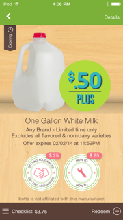 Milk Ibotta Offer