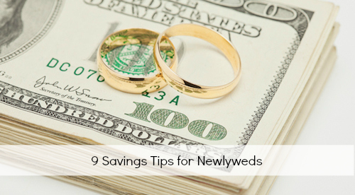 Savings Tips for Newlyweds