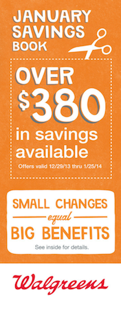 Walgreens January 2014 Coupon Booklet