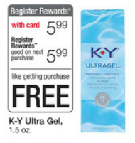 Walgreens K Y Ultra Gel Deal