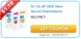 Secret Destinations Coupon