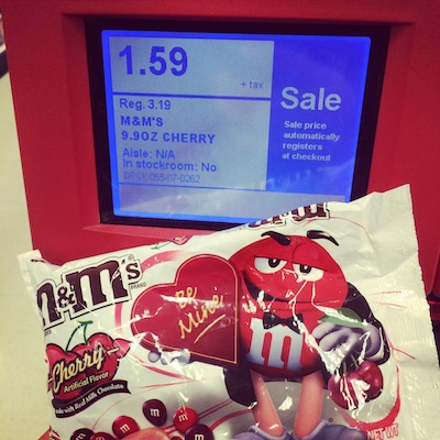 Target: Valentine's M&M's Only $0.09 Per Bag After Coupons!