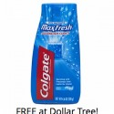 Dollar Tree: FREE Colgate MaxFresh Toothpaste