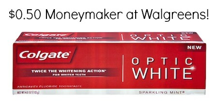 Colgate Optic White Walgreens Deal
