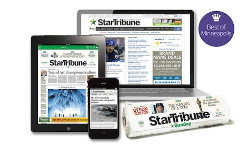 Groupon Star Tribune Deal