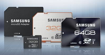 Samsung SD Cards