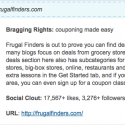 Frugal Finders Named One of the Top 10 Frugal Coupon Blogs!