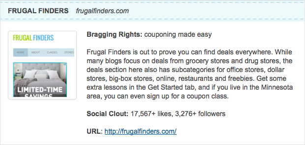 Top 10 Frugal Coupon Blogs
