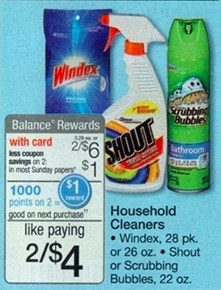 Walgreens Cleaning Products Sale