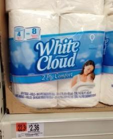 White Cloud Walmart Deal