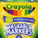 Walmart: FREE Crayola Washable Markers