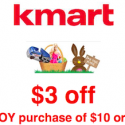 Kmart: $3 off $10 Toy Purchase Printable Coupon