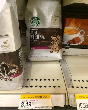 Target Starbucks Coffee