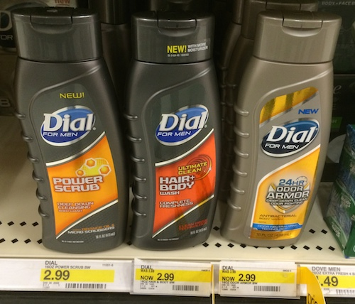 Target Dial for Men Body Wash