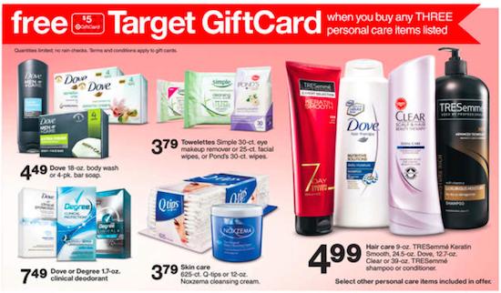 Target Unilever Gift Card