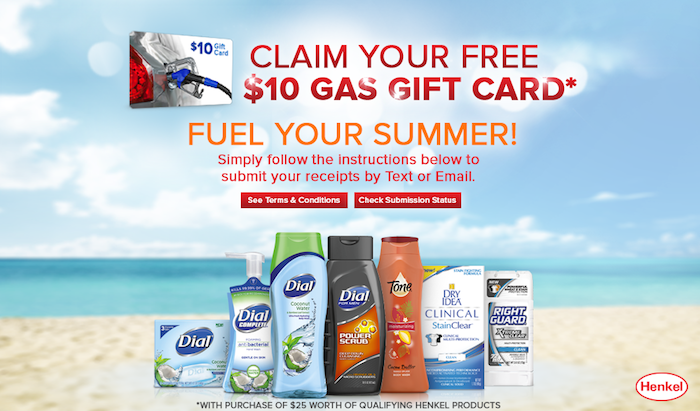 Henkel-Brands-Gas-Card-Offer
