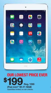 Target iPad Mini